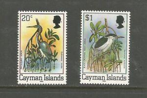 Cayman Islands 1985 Birds, MNH.  SG519B + 523B