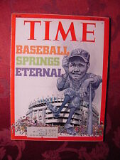 TIME April 26 1976 4/26/76 BASEBALL YANKEE STADIUM +++