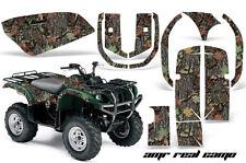 ATV Graphics Kit Quad Decal Wrap For Yamaha Grizzly YFM 660 2002-2008 REAL CAMO