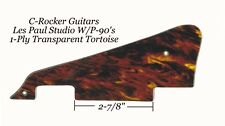Les Paul LP 1-Ply Tortoise Studio Pickguard W/Hardware Gibson Guitar Project New