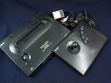 SNK NEO GEO AES Console System Neogeo Red blood ver n/066817 RARE S-Cable output