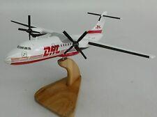 ATR-42 DHL White ATR42 Airplane Desk Wood Model Small New