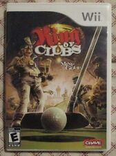 Nintendo Wii King of Clubs (Manual, box and game)