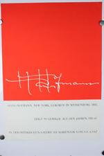 Hans Hofmann New York Weissenburg Plakat 1962 Ausstellung Malerei 60er Jahre
