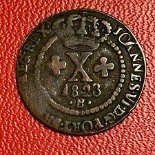 #5394 - Brésil 10 Reis 1823 B Bahia TTB RARE - FACTURE