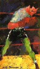 Original Vintage Leroy Neiman Sport Print Joe Torres Boxing