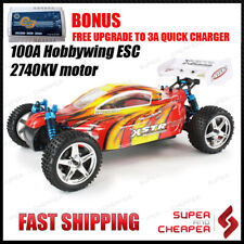 Rc Remote Control Car Hsp Top Version 1/10 Brushless Buggy With 3S Lipo And 100A
