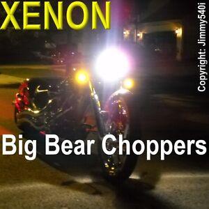 "Premium *XENON LIGHTS * H4 - ""BIG BEAR CHOPPERS Motorcycle Bike"" - by Jimmy540i"