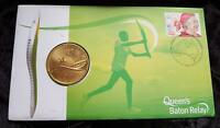 2005 QUEEN'S BATON RELAY UNC AUSTRALIA $5 COIN MINT RAM CARD