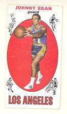 1969-70 TOPPS BASKETBALL JOHNNY EGAN CARD #16 EXMT-NM NO CREASES (533)