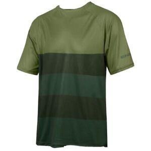 Endura Singletrack Core Mens Jersey Mtb Medium Green