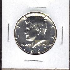 1969-S 40% SILVER PROOF KENNEDY HALF DOLLAR
