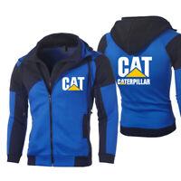 Hot Caterpillar Power Print Hoodie Sporty Sweatshirt Autumn Coat Cosplay Jacket