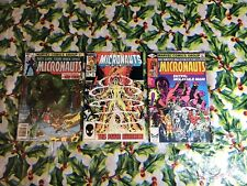 micronauts comics lot 7, 9, 23 (Marvel)