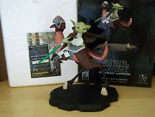 Yoda On Kybuck Clone Wars Animated Maquette Star Wars #2761 Gentle Giant