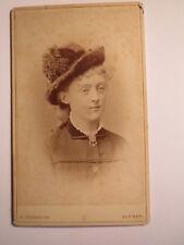 Brême 1879 Gretchen/Margareth VON Lengerke verehelicht d'Stietencron/CDV