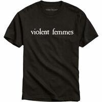 VIOLENT FEMMES White Vintage Band Logo T-SHIRT OFFICIAL MERCHANDISE