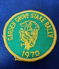 VINTAGE GARDEN GROVE STAKE RALLY 1970 PATCH