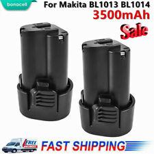 2 Pack  BL1013 10.8V 3.5Ah Li-Ion For Makita Battery BL1014 12V TD090DW LCT203