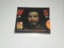 VINICIO CAPOSSELA - SOLOSHOW ALIVE - EDIZIONE CD+ DVD - 2009 - NUOVO! SIGILLATO!