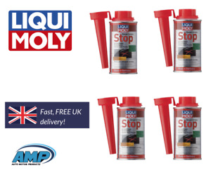 Liqui Moly Diesel Engine Oil Exhaust Smoke Stop System Treatment 150ml x4 1808