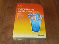 Microsoft Office 2010 Home and Business DVD retail deutsche Vollvers. Word Excel