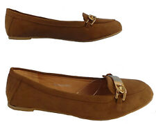 Women's Loafer Ballet Shoe Brown - Size 7 - EU 39