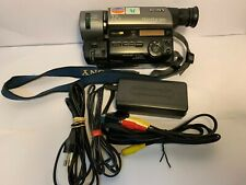 CAMCORDER SONY CCD-TR511e PAL,8, VIDEO 8, 8MM-VIDEOCAMERA