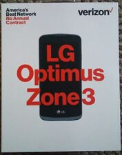 Verizon Prepaid LG Optimus Zone 3 4G LTE with 8GB Memory Cell Phone
