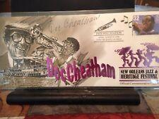 Doc Cheatham Signed New Orleans 1996 Jazz Fest Cachet & signed CD