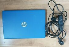 """HP RTL8723DE Laptop Blue 15.3 """" Celeron 1.6 Ghz 1TB 8 GB Ram  + Charger VGC"""