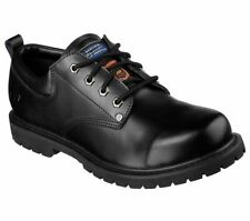 77019 Skechers Men's COTTONWOOD-FRIBBLE SLIP RESISTANT Shoes BLACK