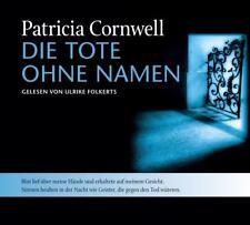 4 CDs VON PATRICIA CORNWELL  DIE TOTE OHNE NAMEN DER SECHSTE FALL FÜR SCARPETTA