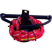 "Williams Kneeboard Rope & 15"" Handle with Aqua Hook Handle Ski Rope"