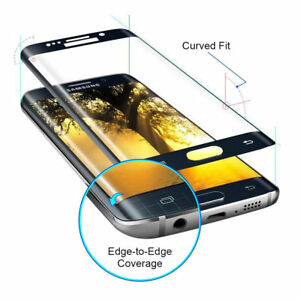 3D Curved HD Tempered Glass Screen Protector Samsung Galaxy S6 Edge+,S7,S7 Edge