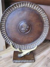 Pinecone Charger stand Antler Table Mantle Rustic Cabin Lodge Decor Pinecone NEW