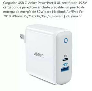 Anker A2321 PowerPort II Universal USB-C to USB A- Carga PIQ 2.0 White