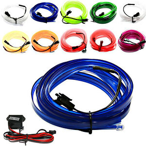 All VW - LED El Strip Light Ambient Lighting Interior Lighting Blue Red