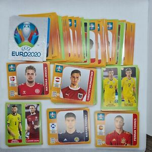 Pick / Choose 1, 10, 20, 30, 40, 50 Panini Euro 2020 Tournament Edition Stickers