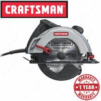 "Craftsman Electric 12 Amp 7-1/4"" Circular Saw, Power Cord Lumber Wood Cut Tool"