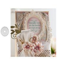 Oval Flower Frame Metal Cutting Dies DIY Scrapbooking Paper Card Album Stencil