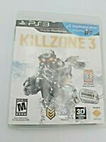 Killzone 3 (Sony PlayStation 3, 2011) Complete & Tested Free Shipping
