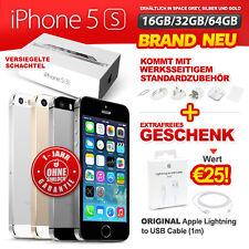 Brand Neu Versiegelt Ohne Simlock Apple iPhone 5S 16 32 64GB Gold Silber Grau