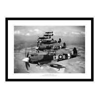 Spitfire Squadron Historic World War 2 1944 Aviation Photo Memorabilia (034)