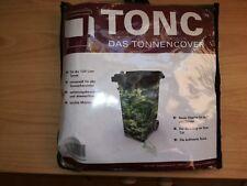 TONC Mülltonnen Cover für 120 Liter Tonnen Universell Walddesign, Neu