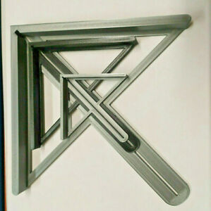 Mittenfinder Zentrierwinkel für Rundmaterial und Rechtecke