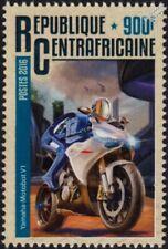 YAMAHA MOTOBOT (Racing Robot) Autonomous Motorcycle Motorbike Stamp (2016 CAF)
