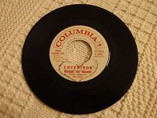 TEEN  EDDIE DE MARR  LOVEBIRDS/I LOVE YOU CATHY COLUMBIA 41817 PROMO