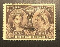 Canada stamps Scott #56 H Used