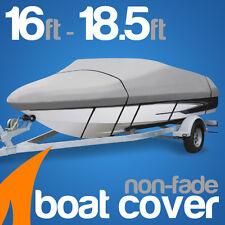 Heavy-Duty, Marine Grade 16ft-18.5ft Trailerable Boat Cover